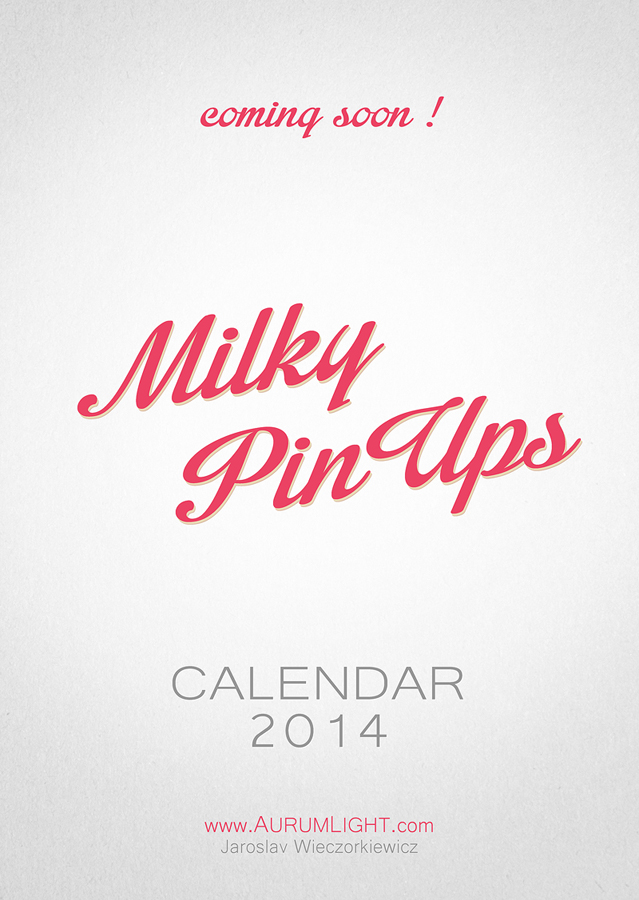 Milky PinUps calendar coming soon